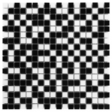PURE BLACK MIX 15 Mozaika kamienna DUNIN