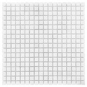 PURE WHITE matt 15 Mozaika kamienna DUNIN