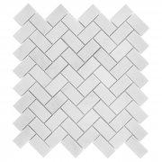 EASTERN WHITE HERRINGBONE 48 Mozaika kamienna DUNIN