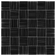 PURE BLACK TATAMI 48 Mozaika kamienna DUNIN