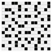 QMX BLACK Mozaika szklana DUNIN