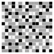 QMX GREY Mozaika szklana DUNIN