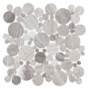 WOODSTONE GREY DOT Mozaika kamienna DUNIN