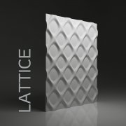 LATTICE Panel ścienny 3D DUNES
