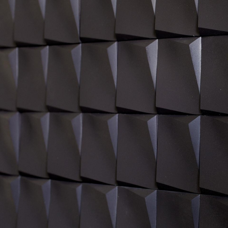 Incana ATLANTIC Graphite płytka 3D czarna