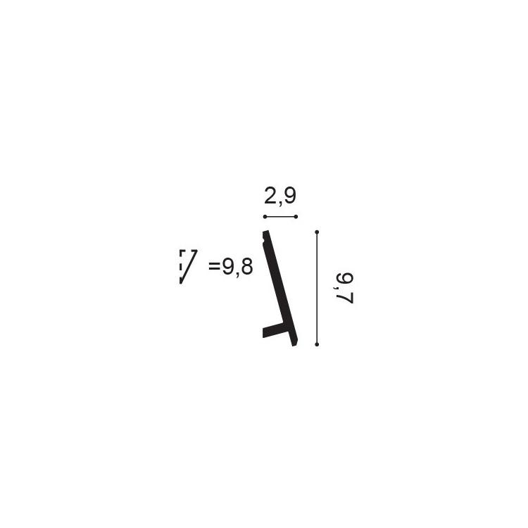 Orac Decor SX179 Listwa Przypodłogowa