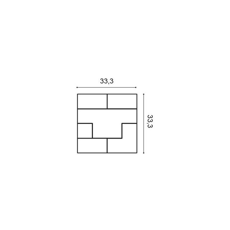 Orac Decor W103 Cubi Panel ścienny 3D