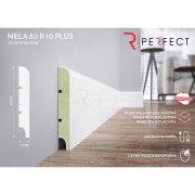 Perfect Nela 80 R10 PLUS Listwa przypodłogowa