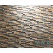 Bravo Wooden Wall Design Panel drewniany Antique