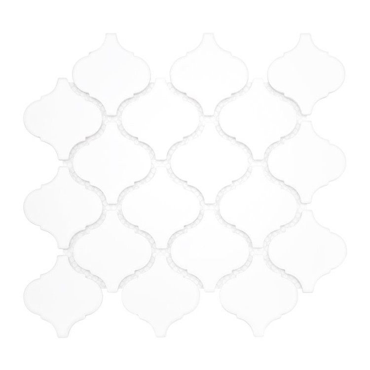 MINI ARABESCO WHITE Płytka gresowa DUNIN