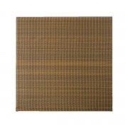Płot panelowy 180 x 180 cm dwustronny Rattan Art