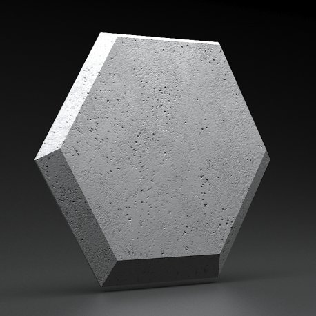 ETNA Gray Rock panel ścienny 3D ZICARO