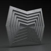 ZANGO Moon Stone panel ścienny 3D ZICARO