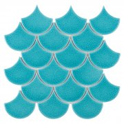 Mini Fish Scale Bali 88 Mozaika ceramiczna DUNIN