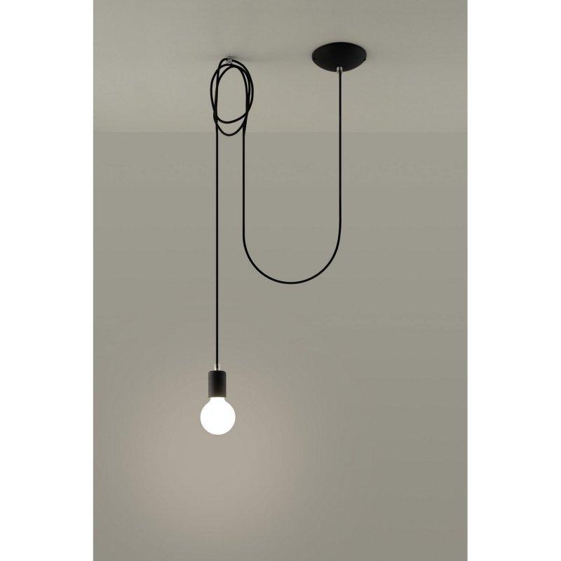 Edison 1 Long Sollux Lighting Lampa Wisząca Lampy Wiszące