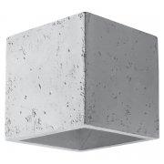Quad Sollux Lighting Kinkiet Beton