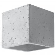 Quad Sollux Lighting Kinkiet Beton