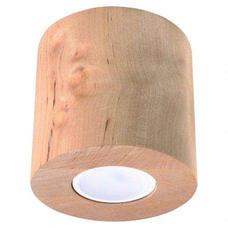 Orbis Sollux Lighting Plafon Drewno