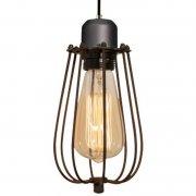 Kopenhagen Loft Grey Brown Altavola Design Lampa wisząca