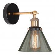 New York Loft No.1 Smoky Brass Altavola Design Lampa ścienna
