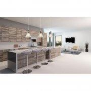 New York Loft No.1 CL Clear Chrom Altavola Design Żyrandol