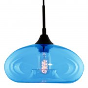 London Loft No.3 BL Blue Altavola Design Lampa wisząca