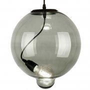 Modern Glass Bubble Smoky Altavola Design Lampa wisząca