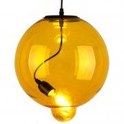 Modern Glass Bubble Yellow Altavola Design Lampa wisząca