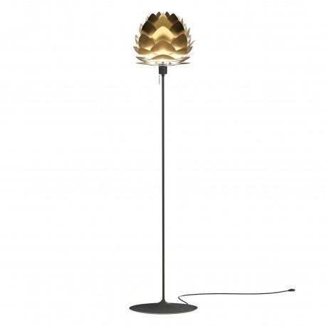 ALUVIA MINI BRUSHED BRASS + Champagne floor stand ZESTAW Umage