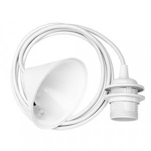 Cord Set Biały E27-60W