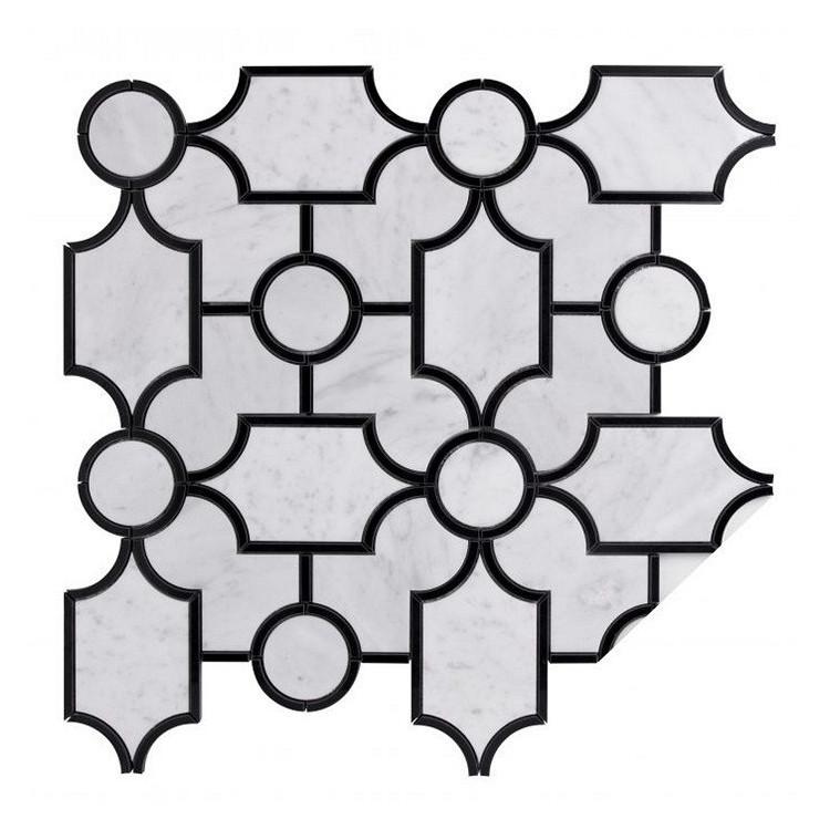 CARRARA WHITE MANOR Mozaika kamienna MANORIAL DUNIN