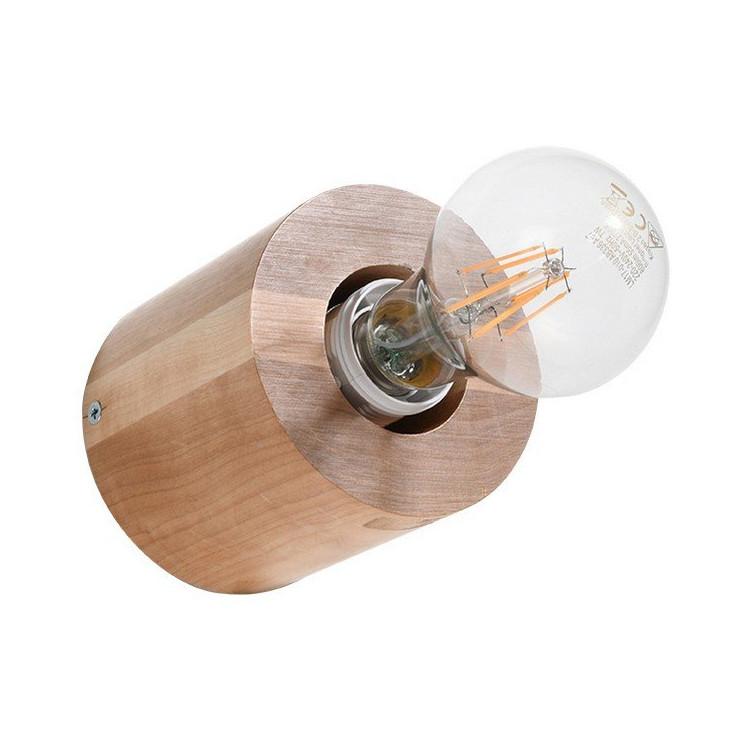 Salgado Sollux Lighting Kinkiet Naturalne drewno