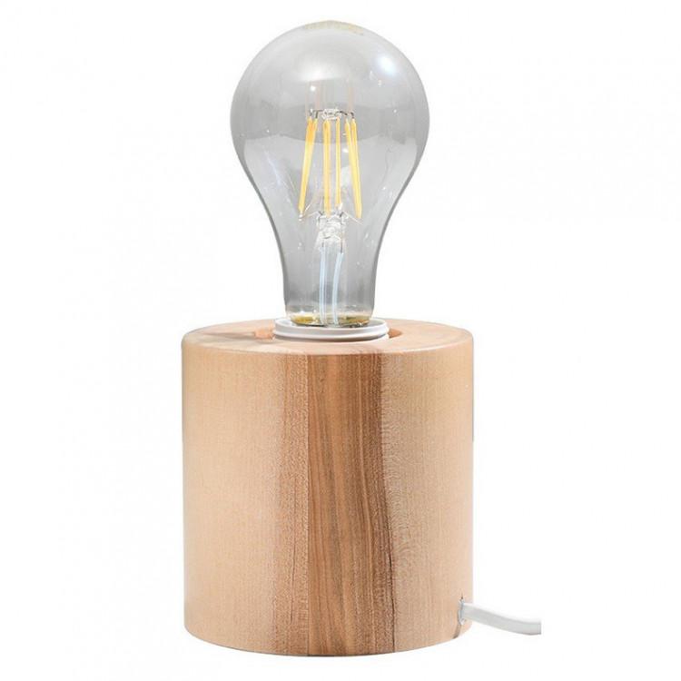 Salgado Sollux Lighting Lampa Biurkowa Naturalne drewno
