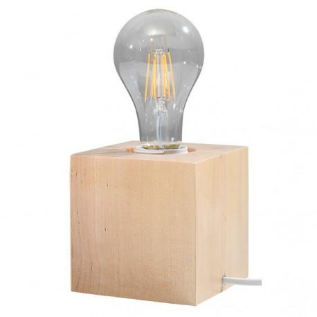 Abel Sollux Lighting Lampa Biurkowa Naturalne drewno