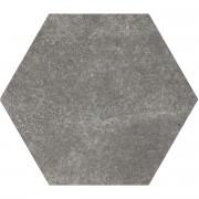 HEXATILE CEMENT Black 17,5x20 cm Płytka gresowa EQUIPE