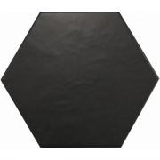HEXATILE Negro mate 17,5x20 cm Płytka gresowa EQUIPE