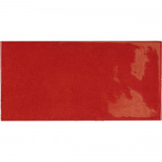 VILLAGE Volcanic red 6,5x13,2 cm Płytka glazurowa EQUIPE
