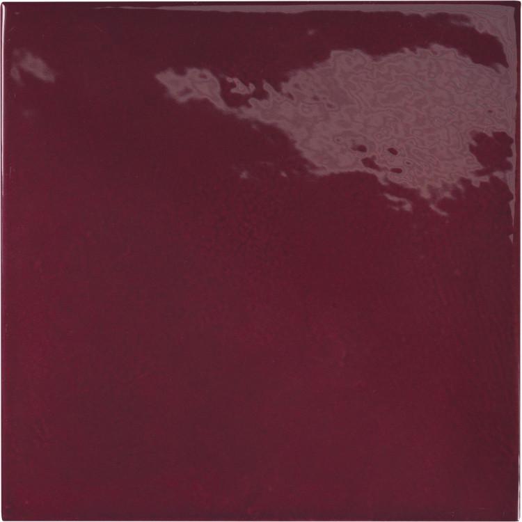 VILLAGE Aubergine 13,2x13,2 cm Płytka glazurowa EQUIPE