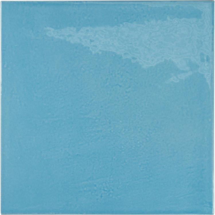 VILLAGE Azure blue 13,2x13,2 cm Płytka glazurowa EQUIPE