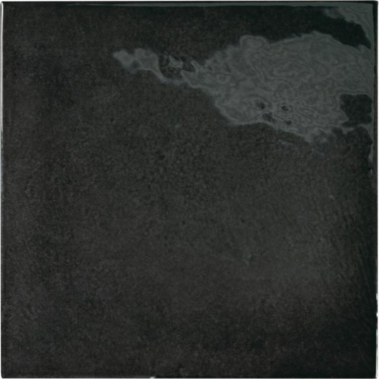 VILLAGE Black 13,2x13,2 cm Płytka glazurowa EQUIPE