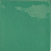 VILLAGE Esmerald green 13,2x13,2 cm Płytka glazurowa EQUIPE
