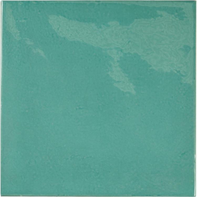VILLAGE Teal 13,2x13,2 cm Płytka glazurowa EQUIPE