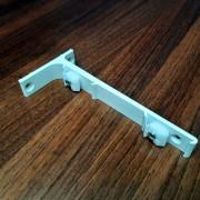 ZS/ZD Wspornik 15 cm Podwójny ścienny aluminiowy Creativa