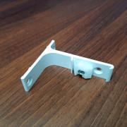 ZS/ZD Wspornik 7,5 cm Pojedynczy ścienny aluminiowy Creativa