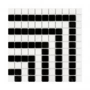 PURE B&W HYPNO 25 A/B Mozaika kamienna DUNIN