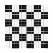 PURE B&W CHESS 15 Mozaika kamienna DUNIN