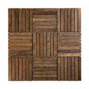CHOCOLATE OAK 110 Mozaika drewniana DUNIN