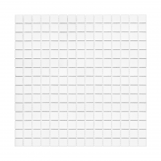QM WHITE Mozaika szklana DUNIN