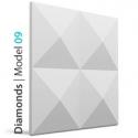 DEKOR 09 DIAMONDS Panel ścienny 3D LOFT SYSTEM