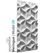 DEKOR 29 MERINGUE Panel ścienny 3D LOFT SYSTEM